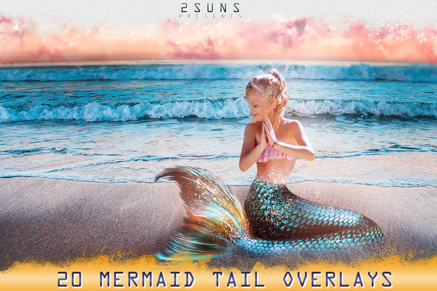 Mermaid tail, tails, overlays, Clipart, PNG, example image 1