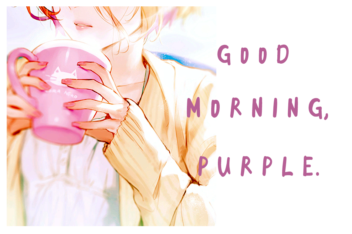 Good Morning Purple example image 1