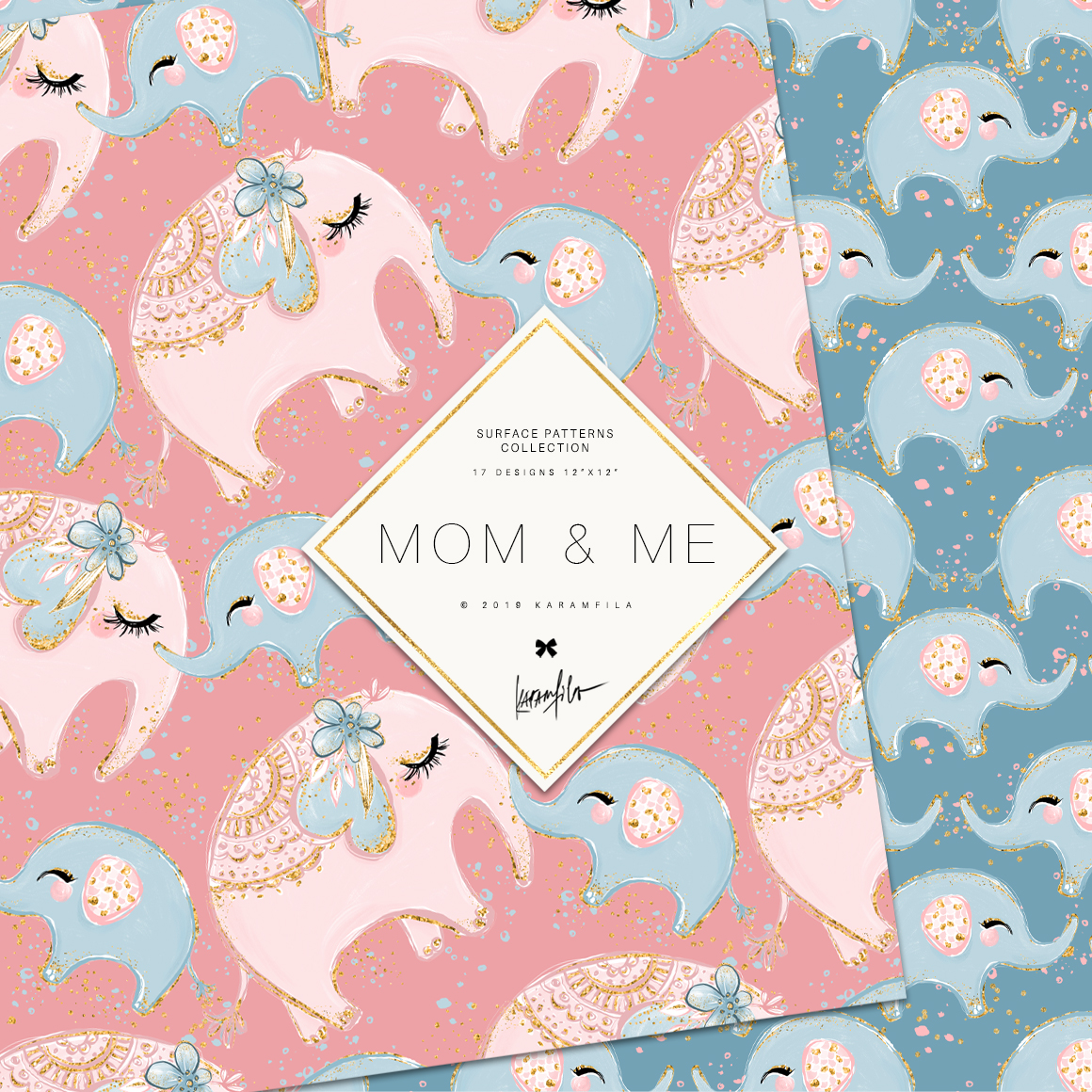 Baby Animals Mother's Day Patterns example image 3