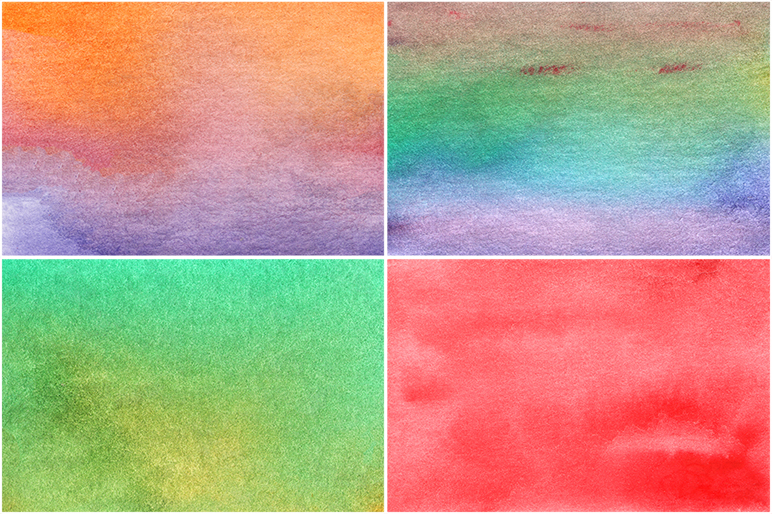 50 Watercolor Backgrounds 04 example image 7