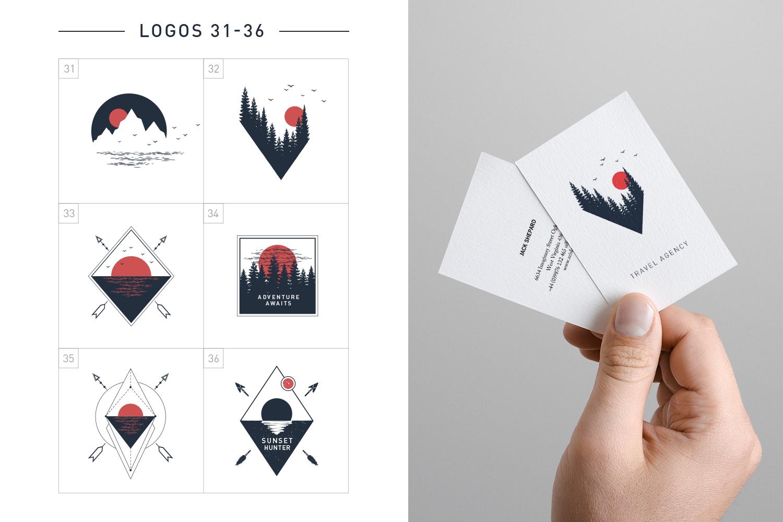 Nordicus. 60 Creative Logos example image 11