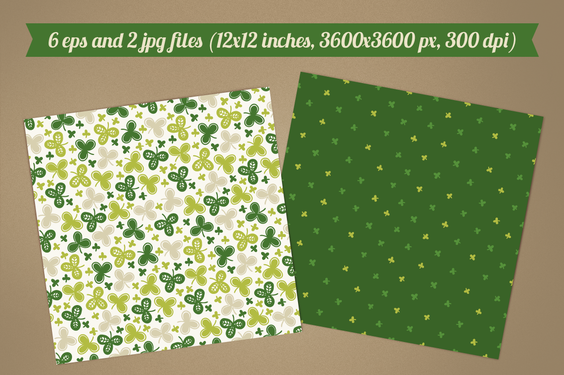 St. Patrick's Day Cards and Patterns example image 2