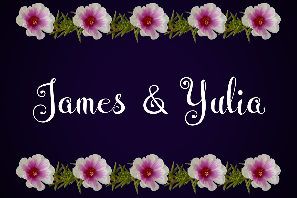 Wedding Font example image 3