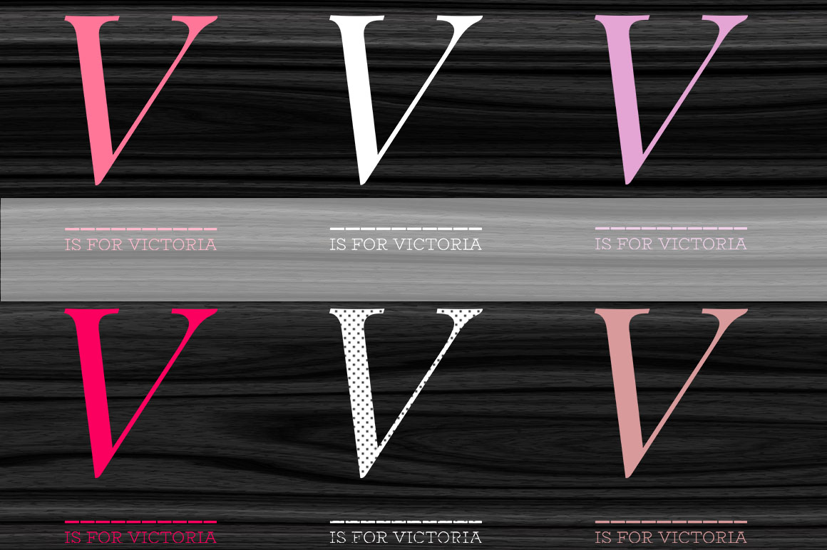V- is for Victoria - Digital Poster example image 2
