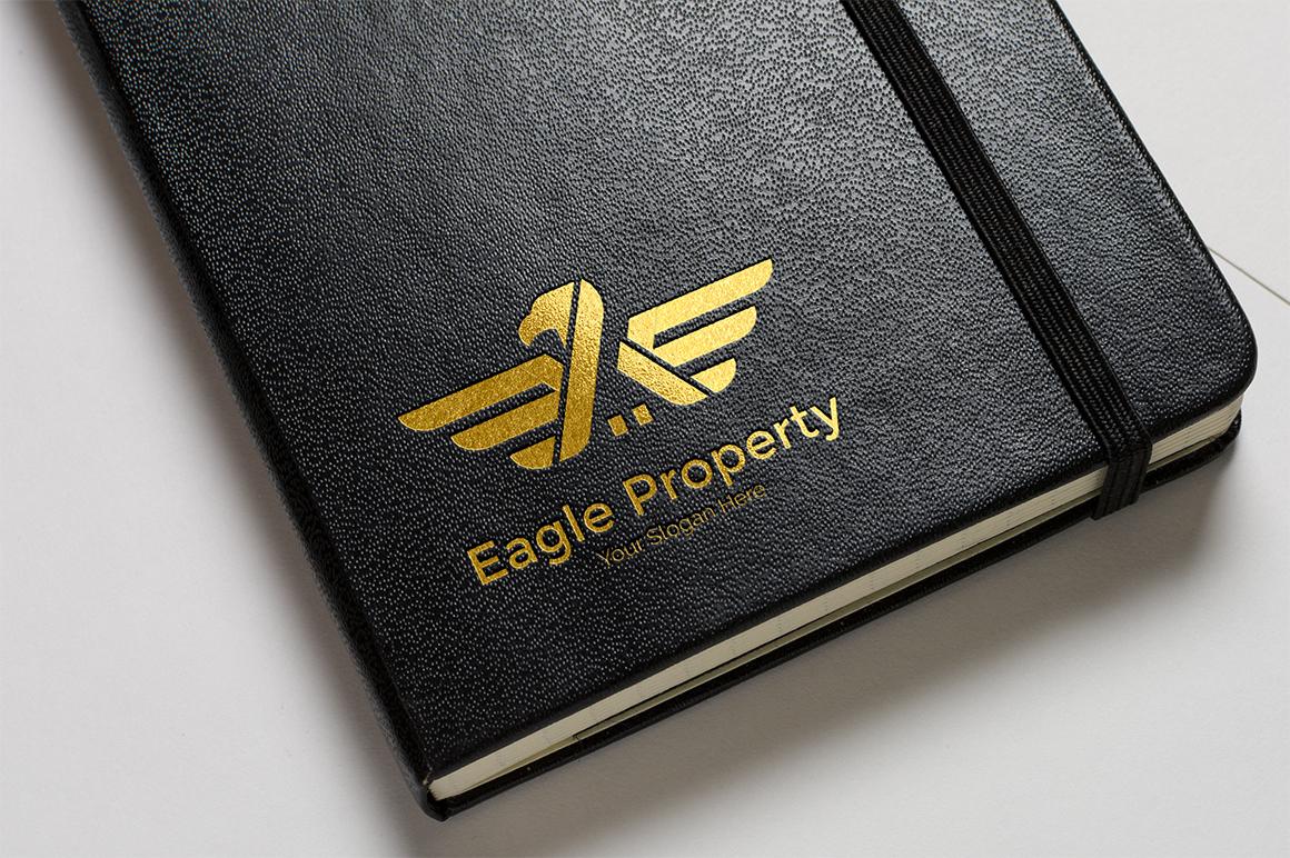 Eagle Construction Logo - Animal logo example image 1