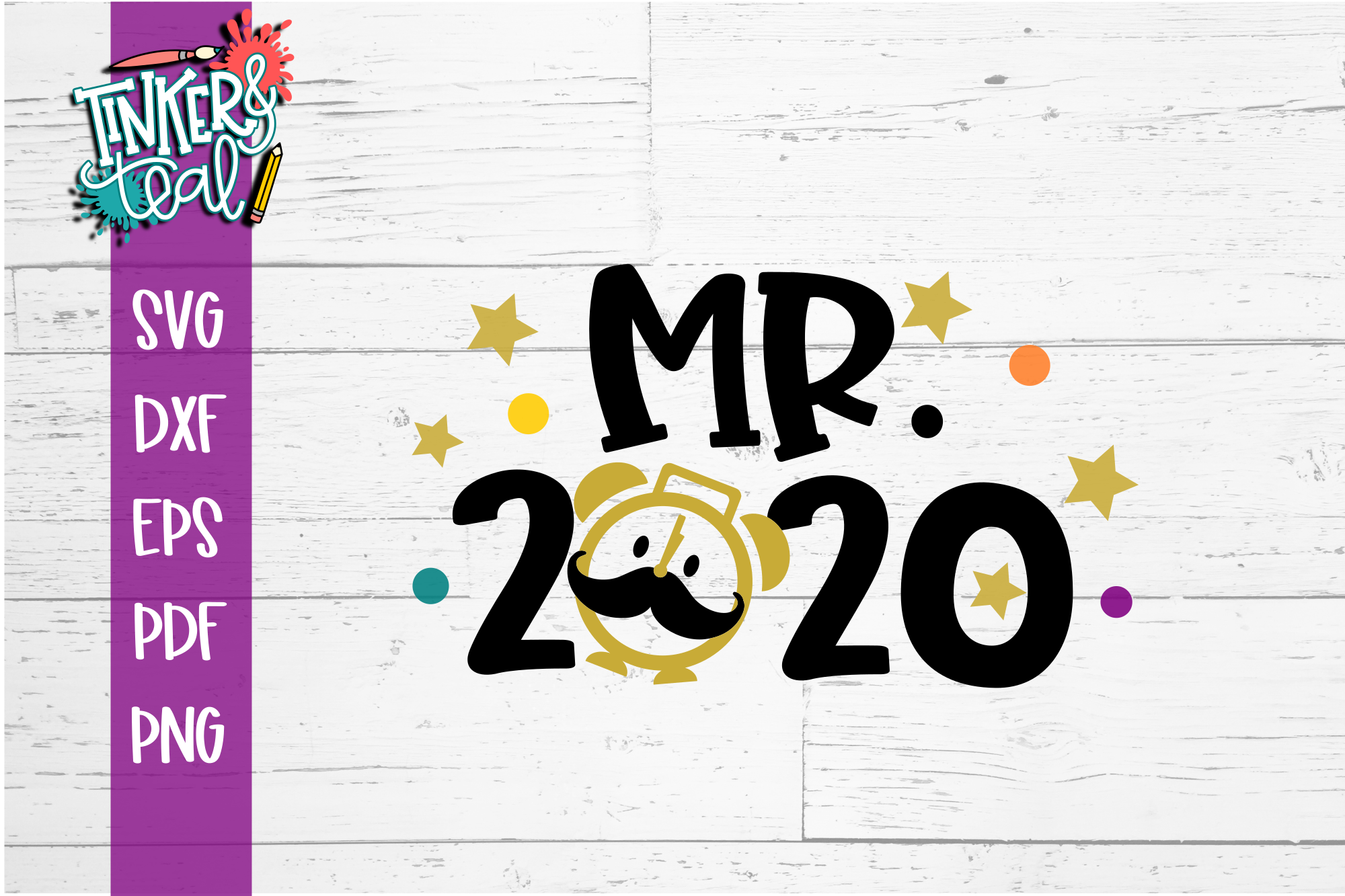 Mr 2020 New Years SVG example image 2