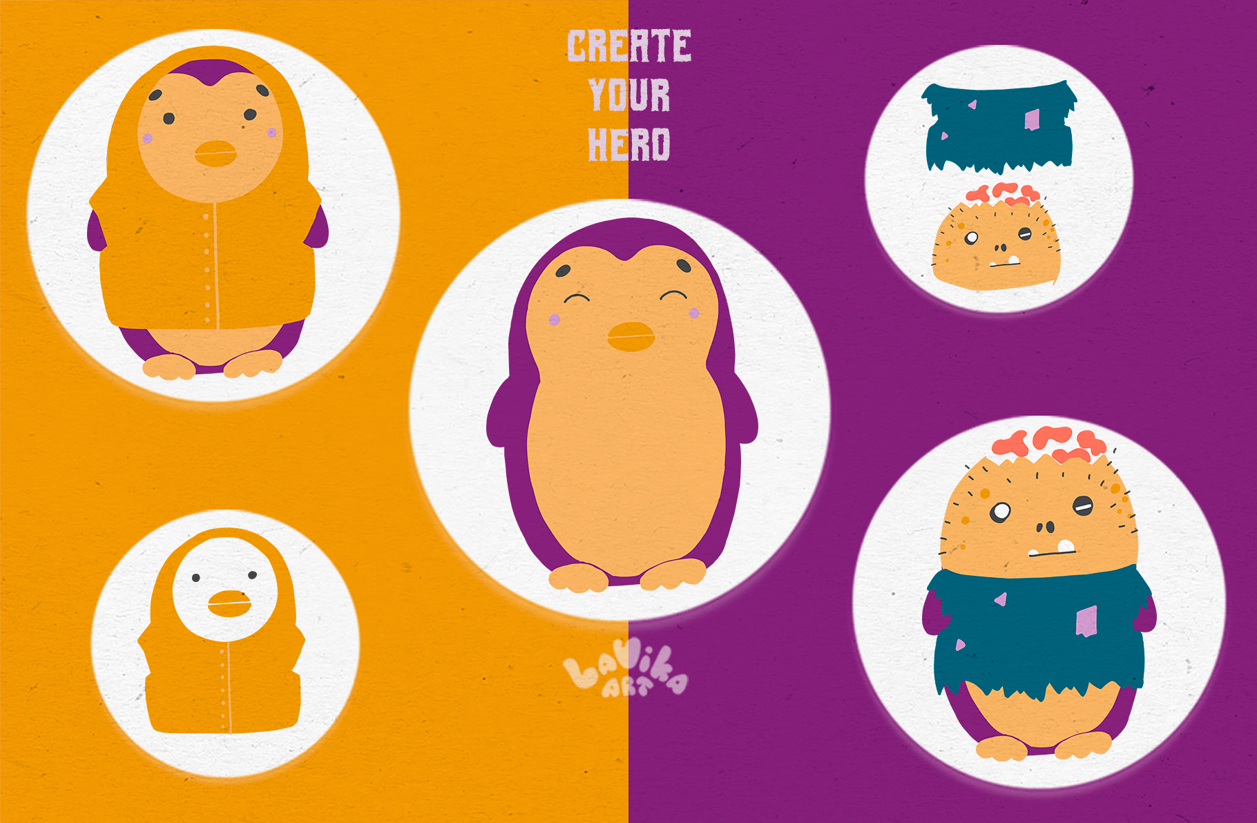 Character creator - Fall holidays example image 3