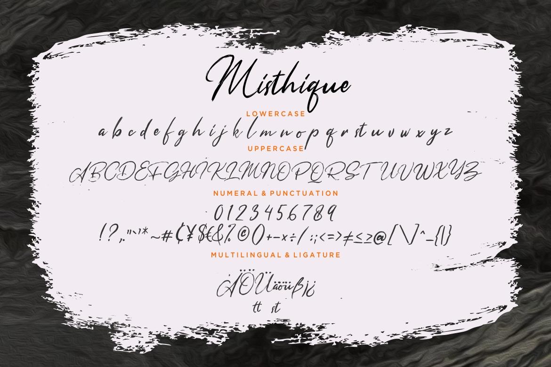 Misthique Signature Brush example image 7