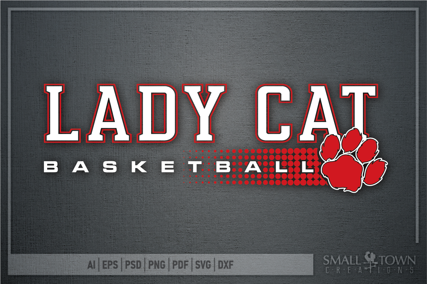 Lady cat, Basketball, Team, Sport, Design, PRINT, CUT, DESIG example image 5