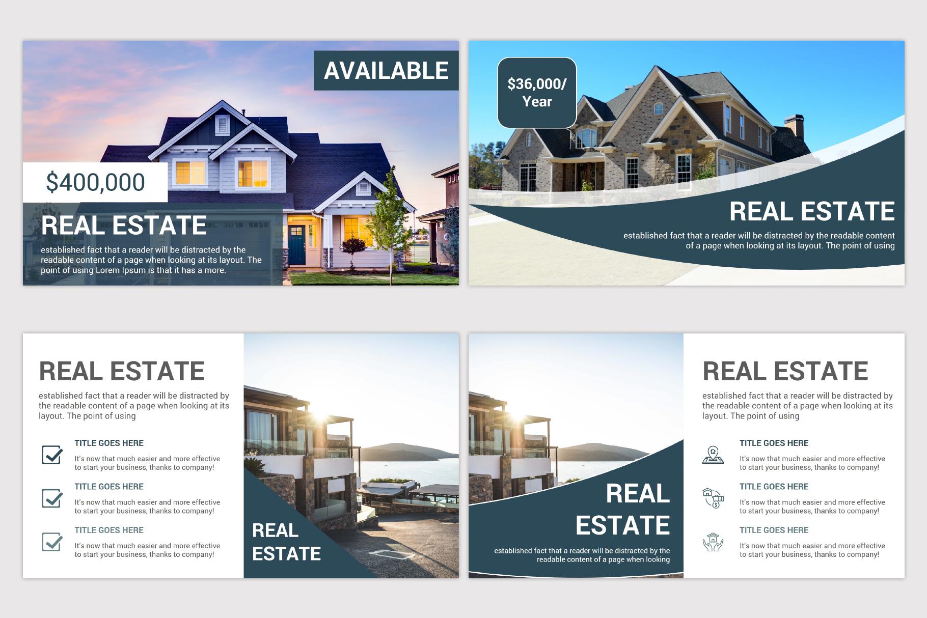 Real Estate Google Slides Template example image 5