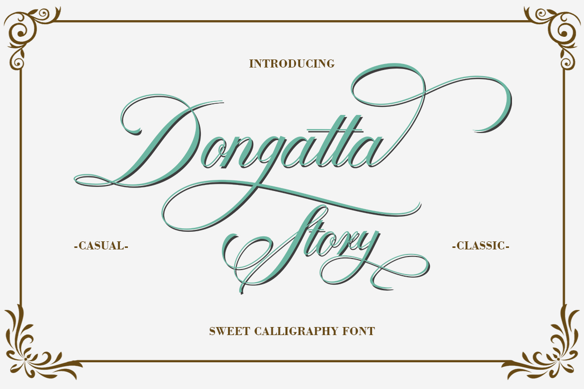 Lovely thing Font Bundles example image 2