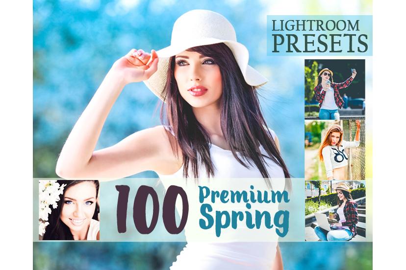 100 Premium Spring Lightroom Preset (Presets for Lightroom 5,6,CC) example image 1