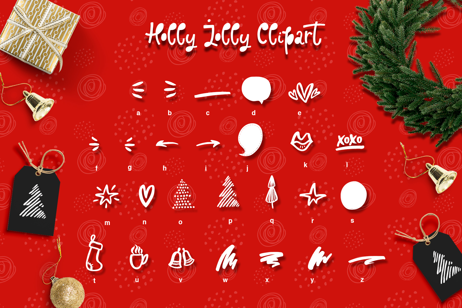 Holly Jolly Font example image 8