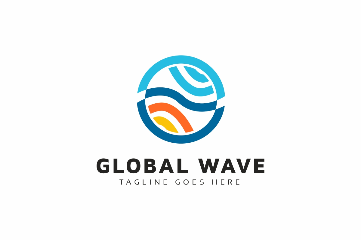 Global Wave Logo example image 1
