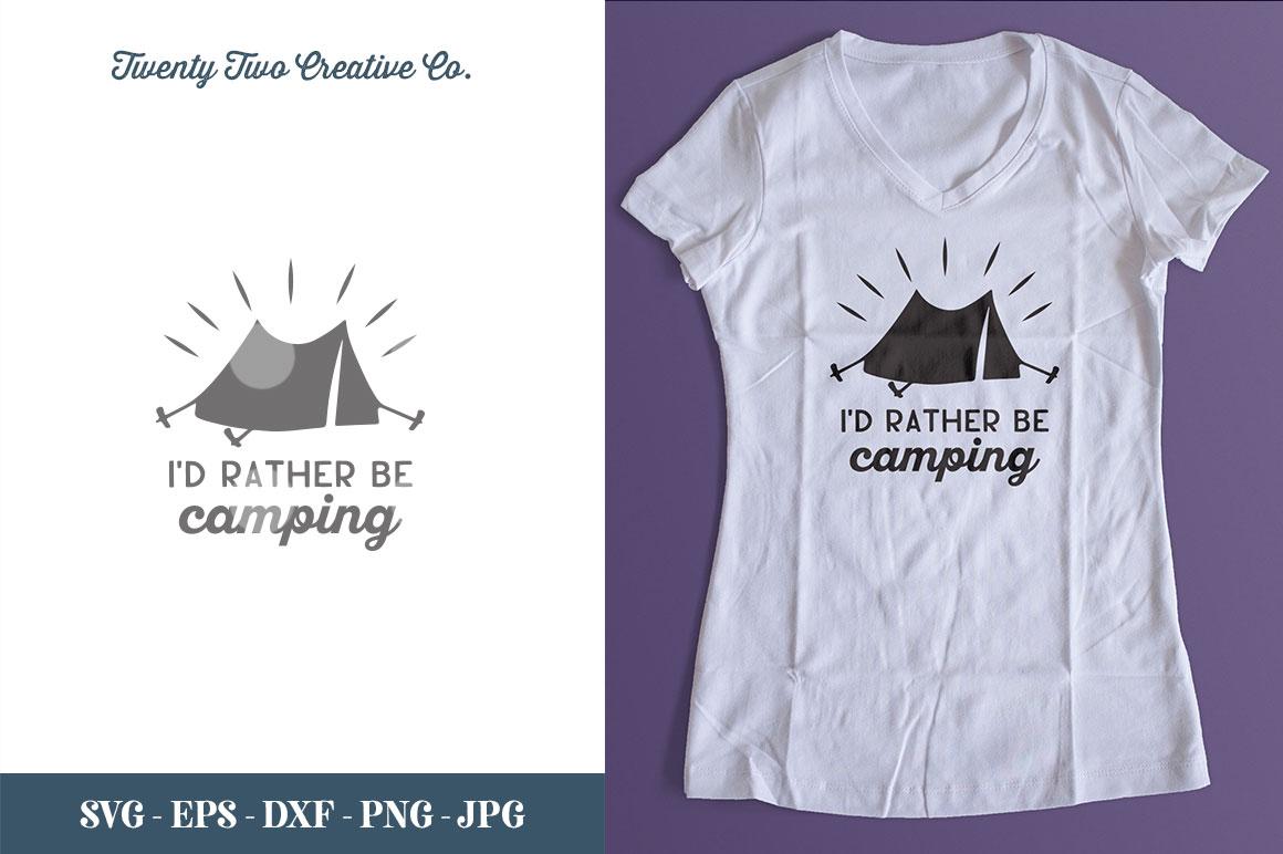 Camping SVG Bundle   SVG, EPS, PNG, JPG example image 6