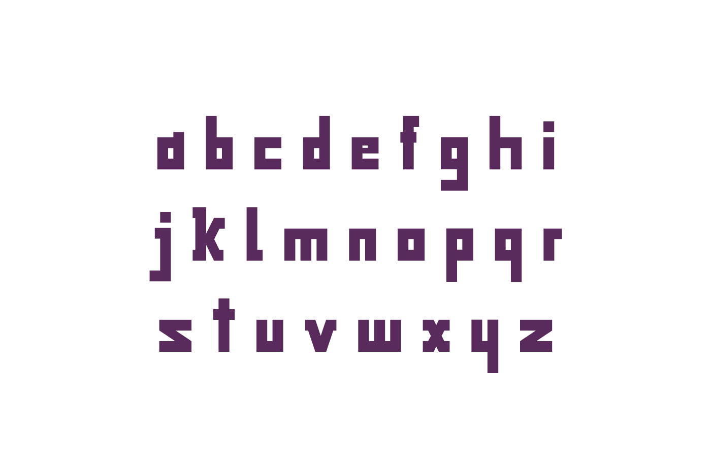 Game Over typeface example image 3