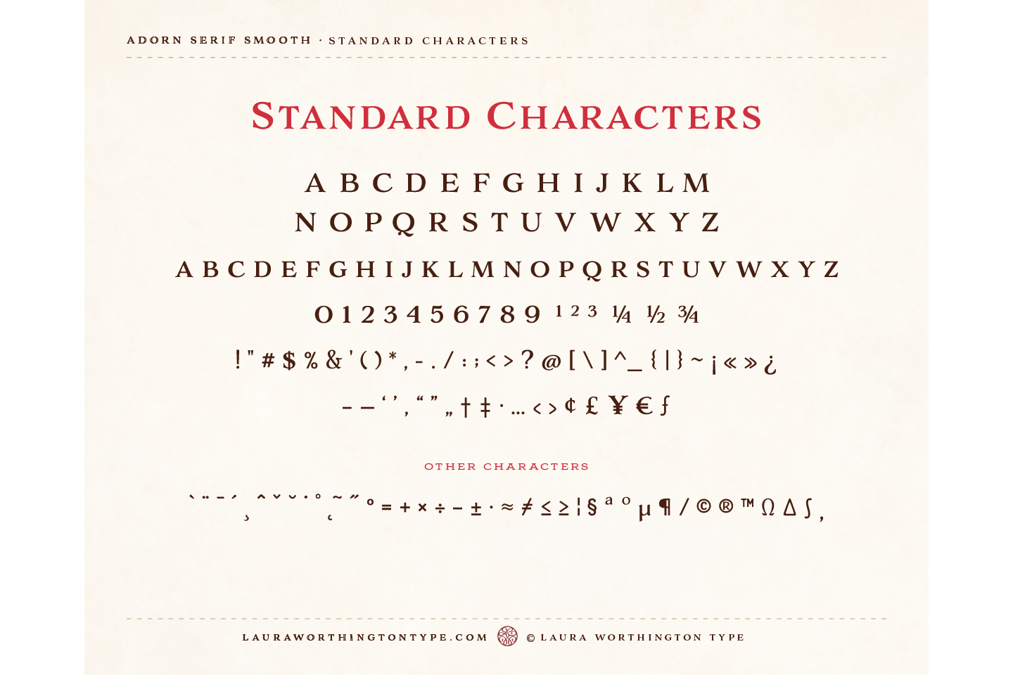 Adorn Smooth Serif example image 3