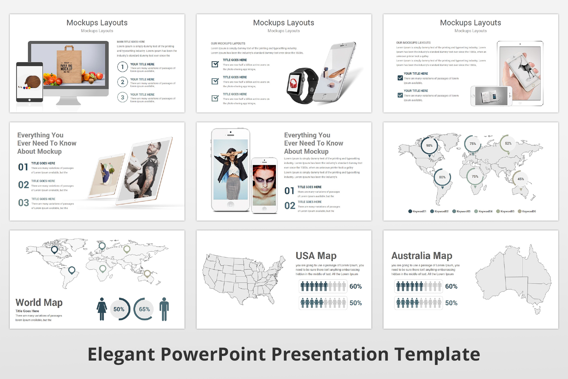 Elegant multipurpose PowerPoint Presentation Template example image 15