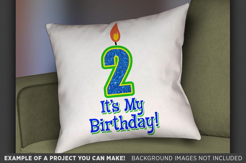 2nd Birthday SVG - Its My Birthday SVG Birthday Shirt - 1029 example image 2