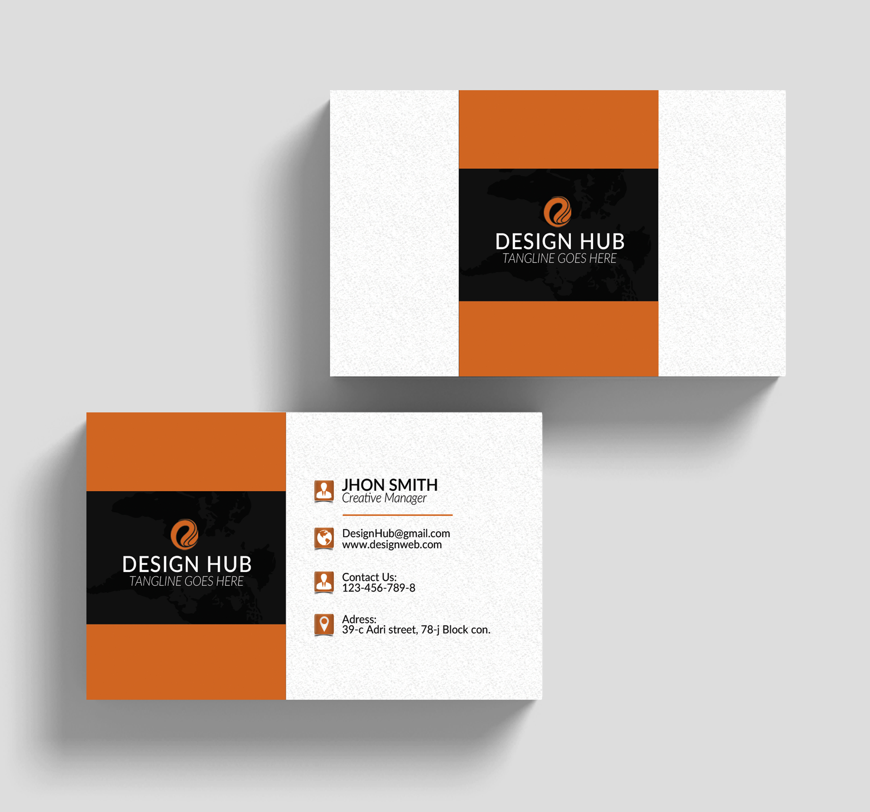 Business Cards Design example image 3