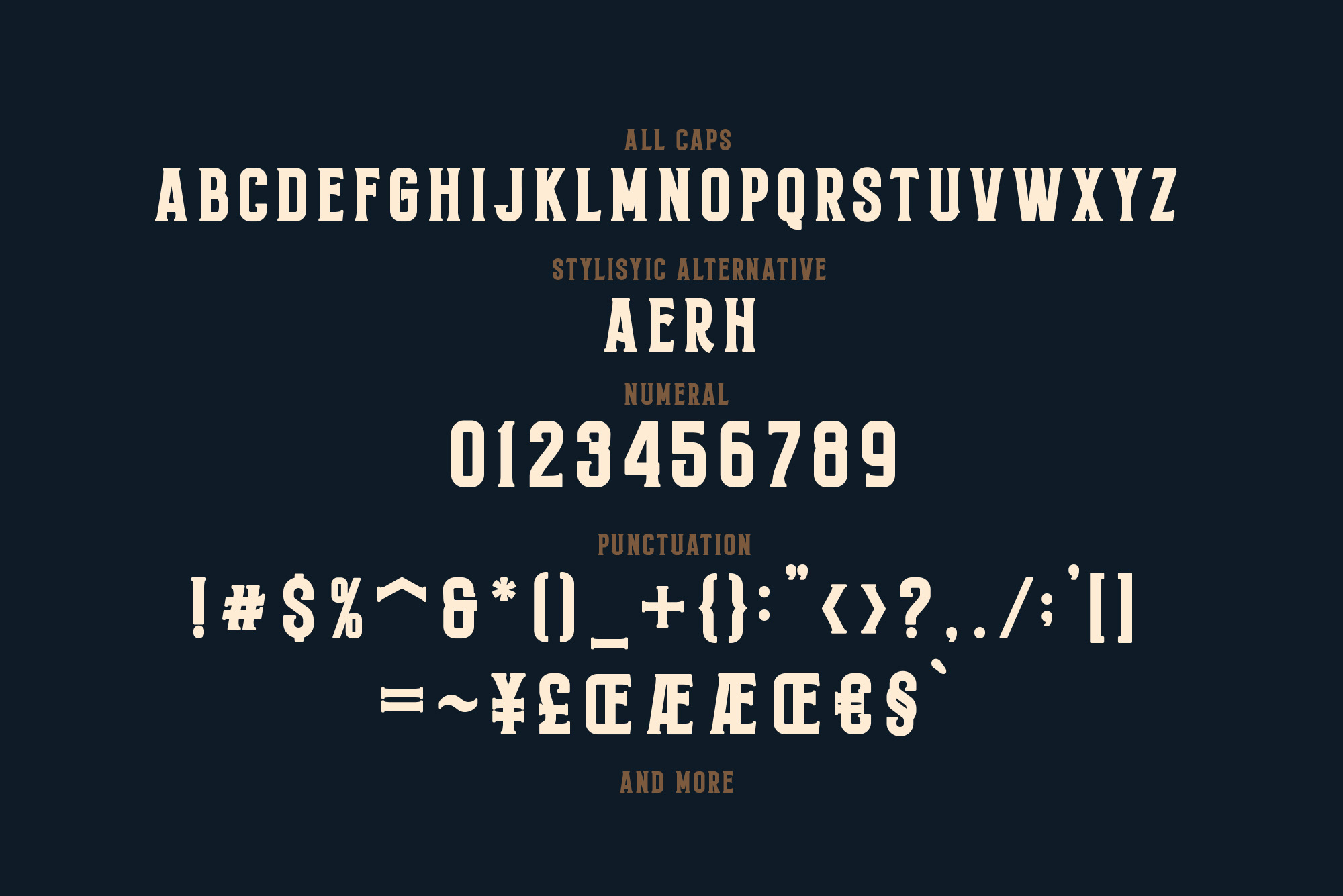 Monthelo - 3 font example image 8