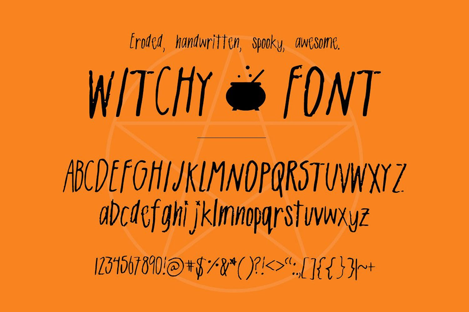 Witchy| A Spooky Sans-Serif example image 2