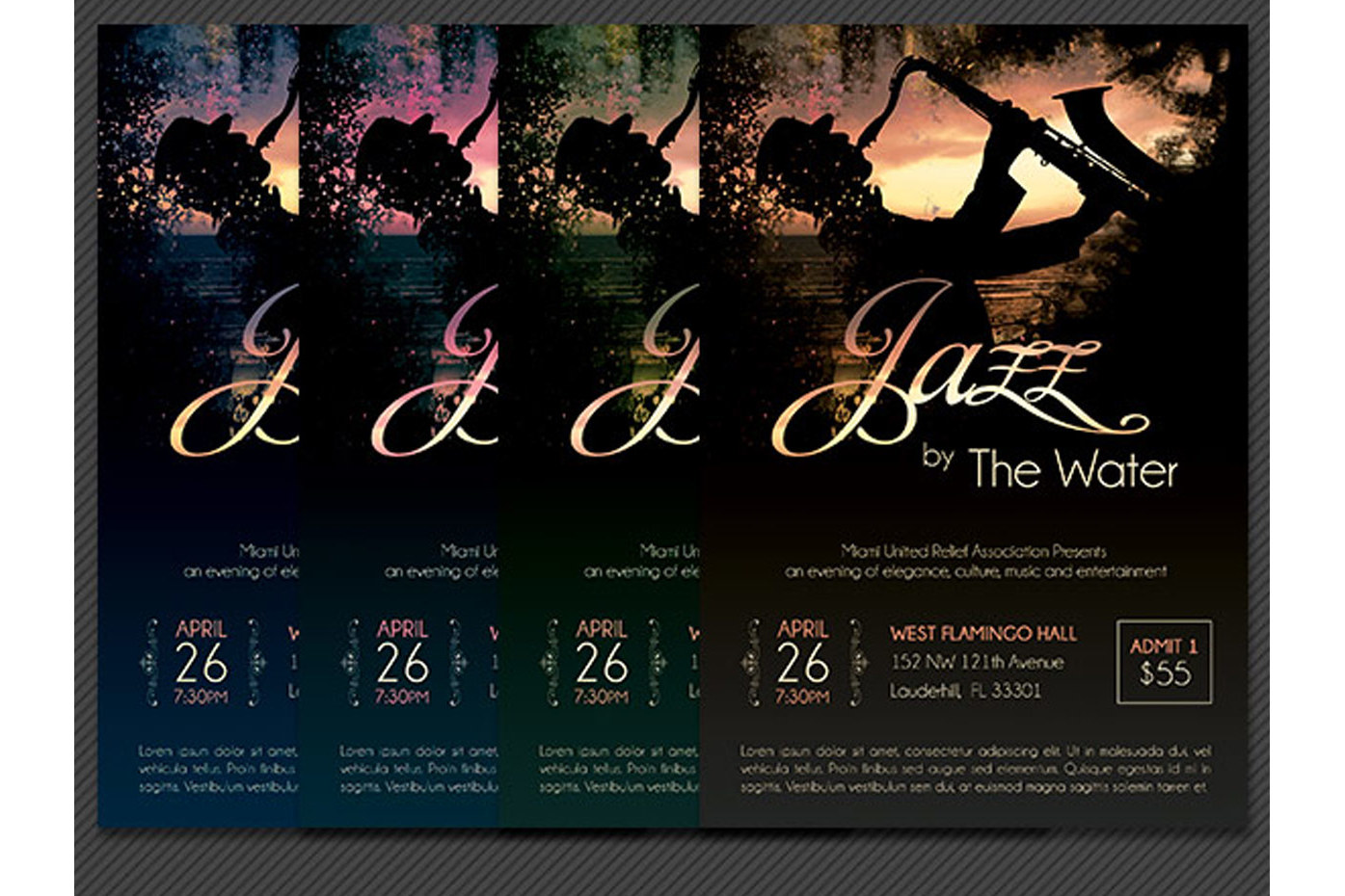 Jazz Concert Flyer Template example image 4