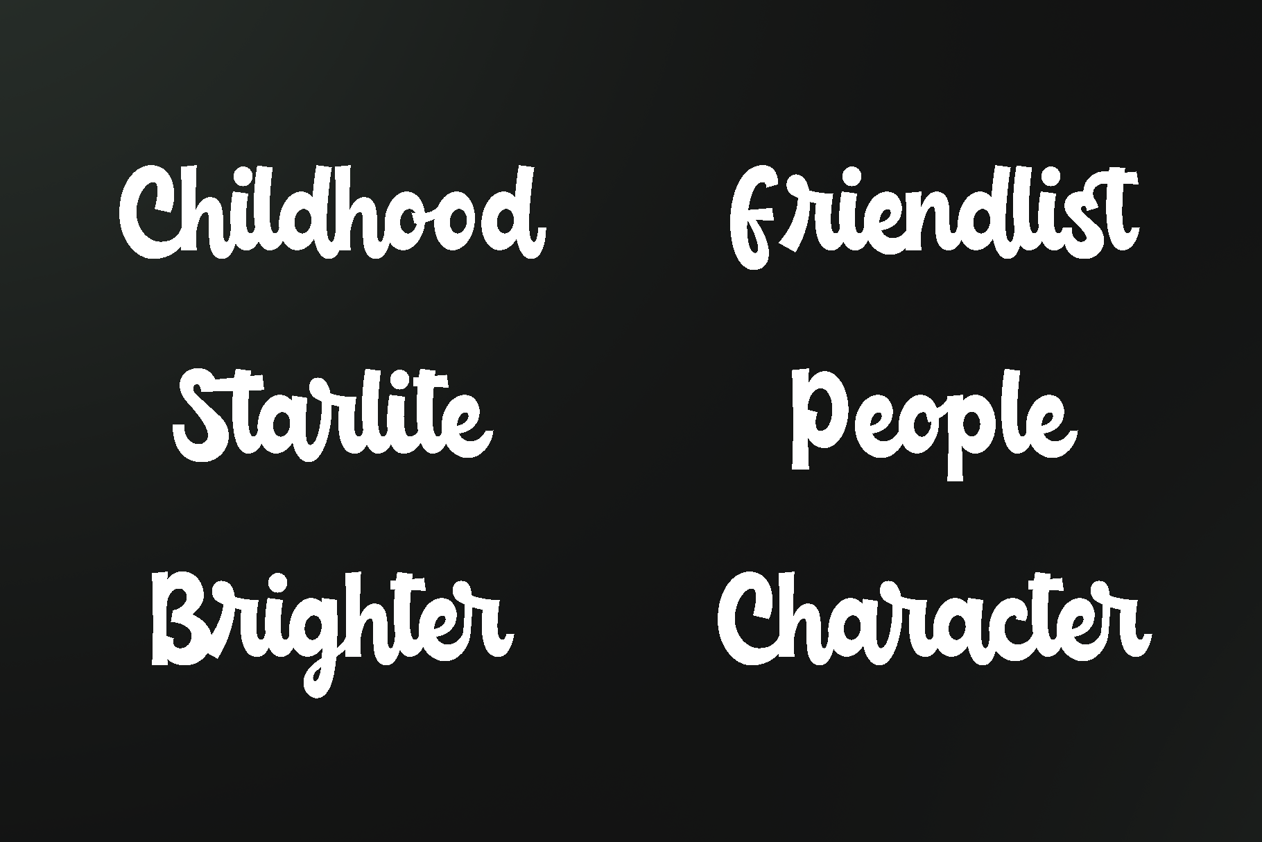 Childish -funny script font example image 4