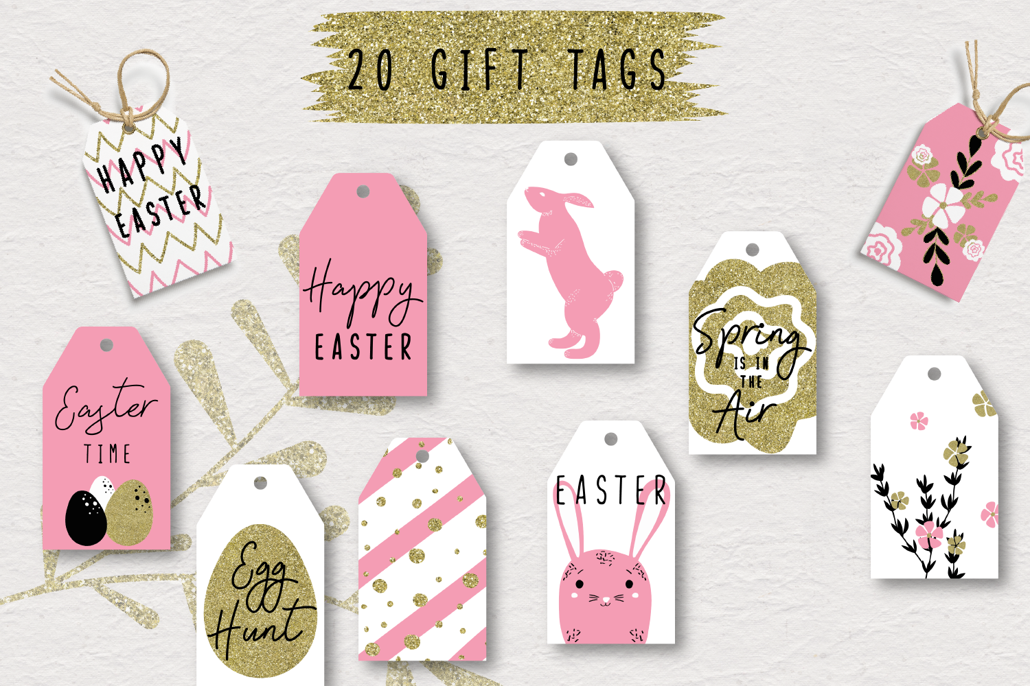 Happy Easter - a pink collection example image 8