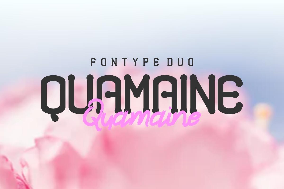 Quamaine example image 1