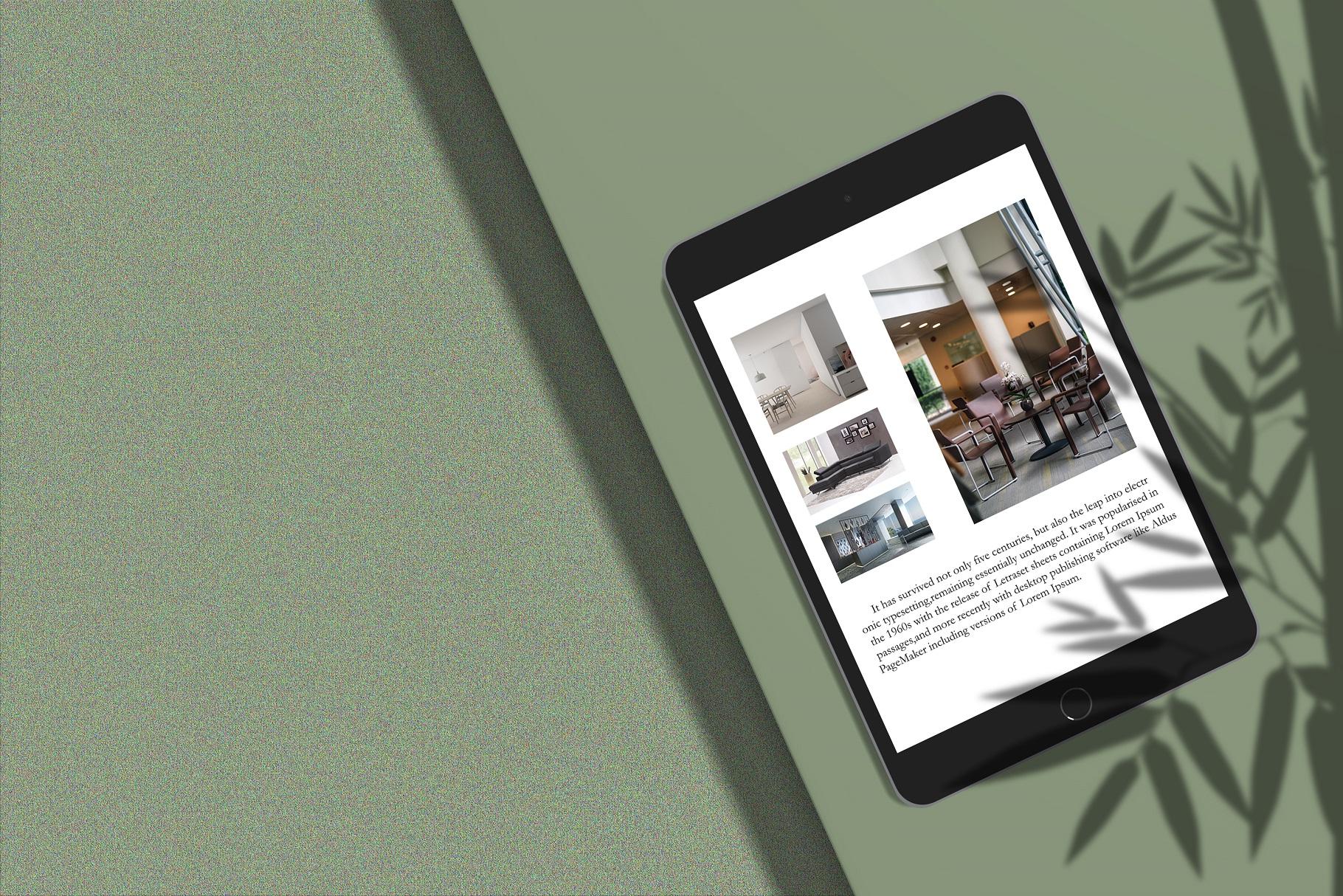 Minimal iPad Mockup example image 7