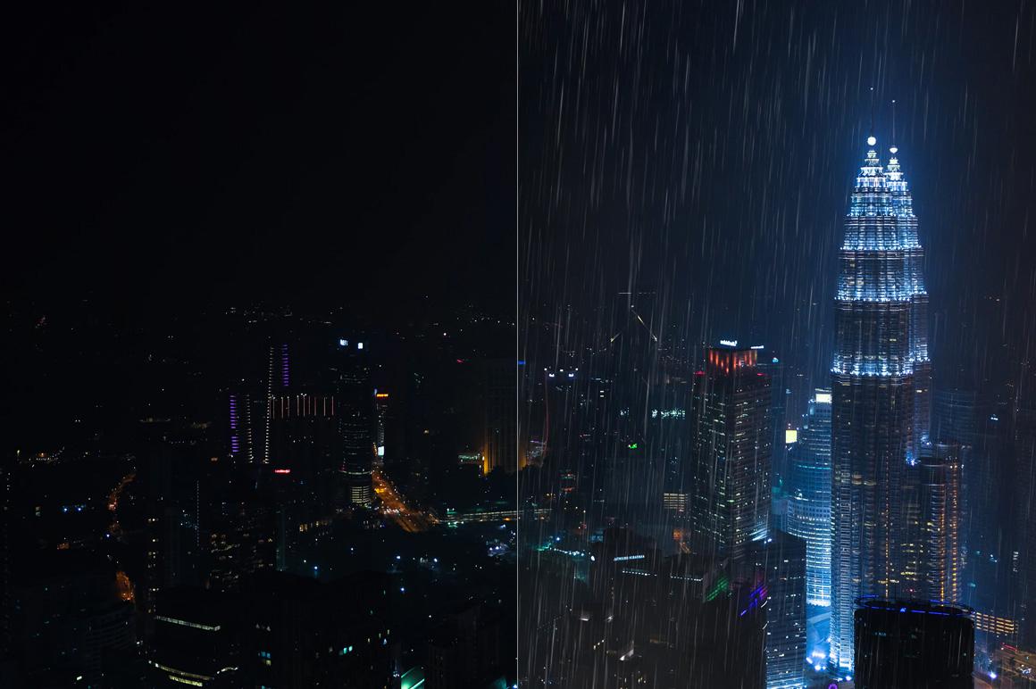 525 Rain, Snow, Lightning Overlays example image 9