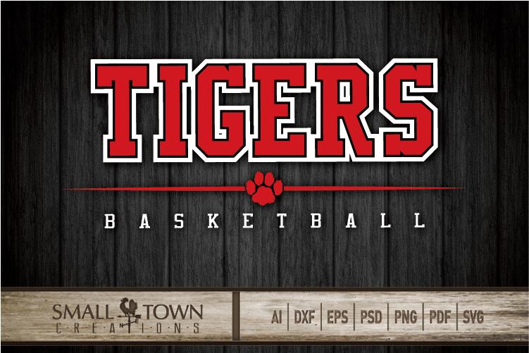 Tigers basketball, tiger mascot, team, PRINT, CUT, DESIGN example image 25