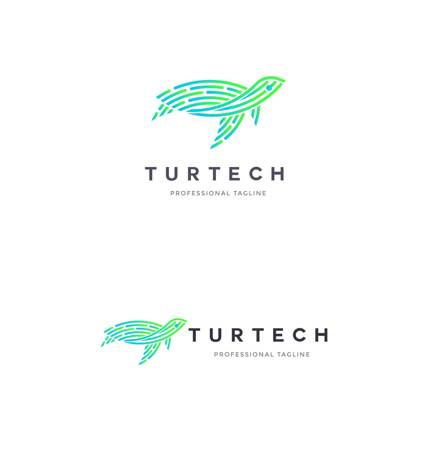 Animal Logo - Turtle Logo example image 2