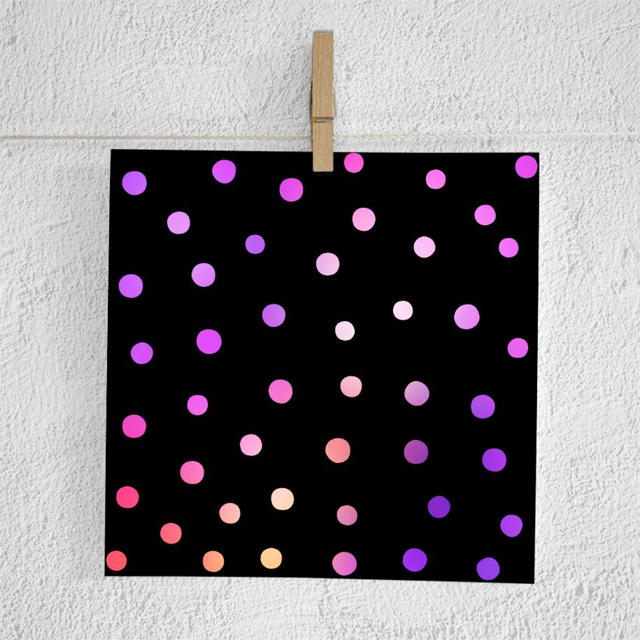 Gradient Confetti Overlays example image 2