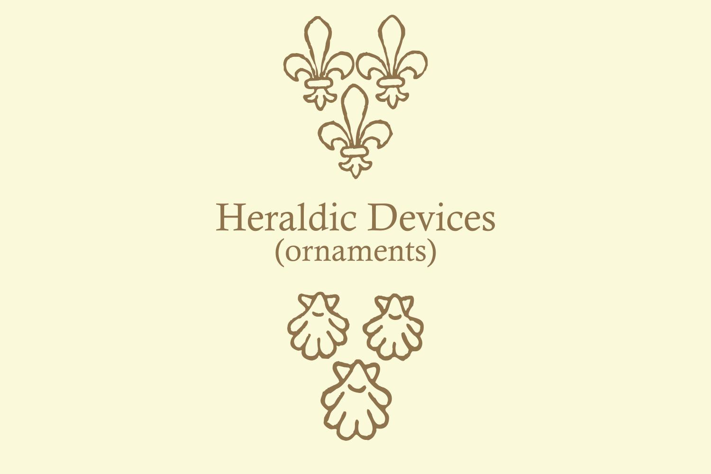 Heraldic Devices Premium   example image 2