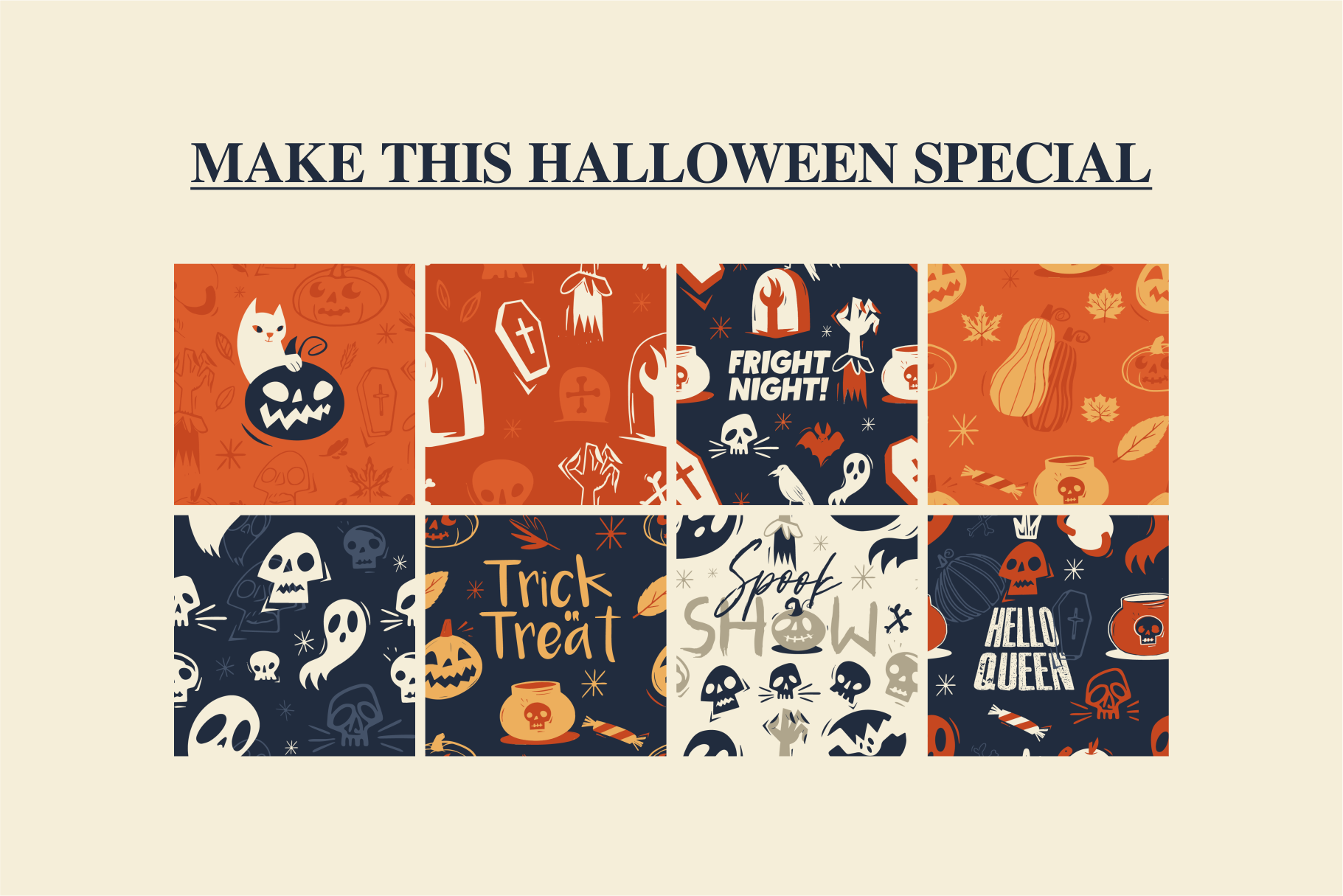 Halloween Rush Pattern Collection example image 6