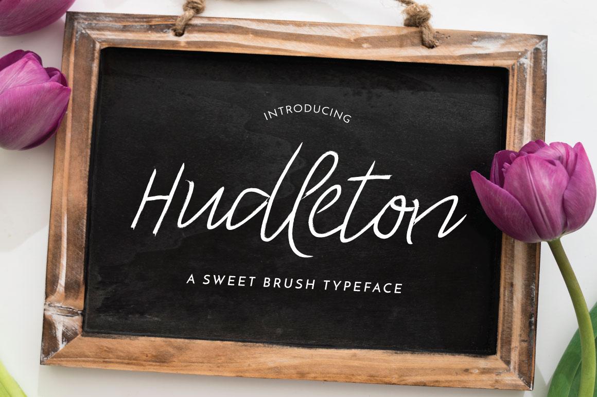 Hudleton Typeface example image 1