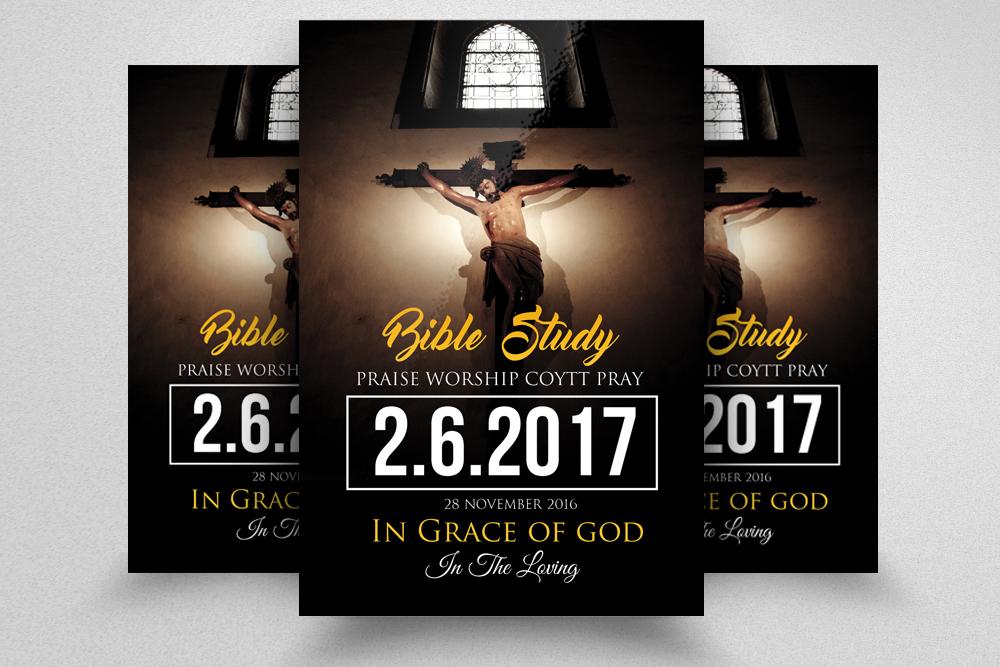 Jesus Church Flyer Templates example image 1