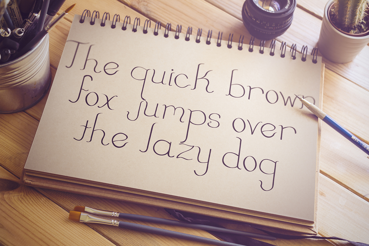 Little Swish Font Family example image 2