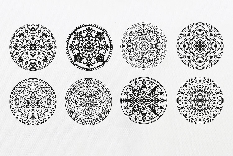 Mandala Ornaments example image 9