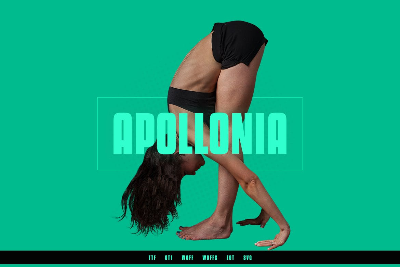 Apollonia Modern Typeface WebFonts example image 1