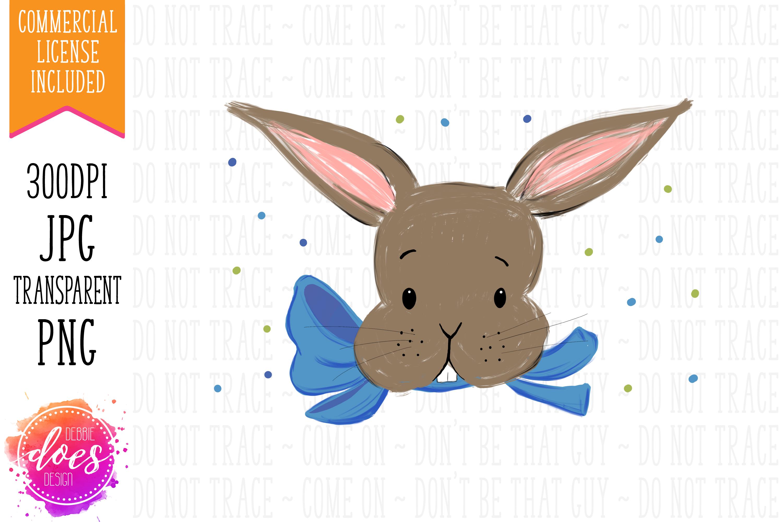 Easter Bunny Pillowcase Design & Mockup Bundle! example image 3