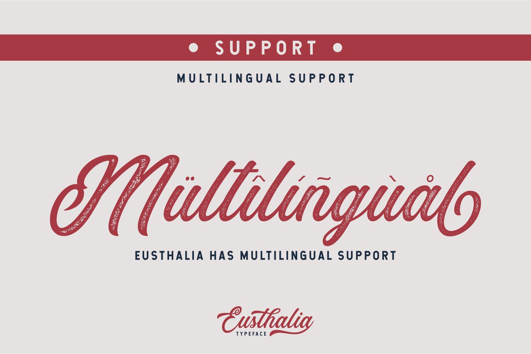 Eusthalia Typeface example image 4