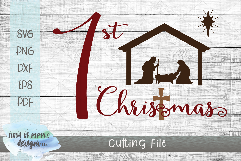 2018 Religious Christmas Bundle - 15 SVG Designs example image 2