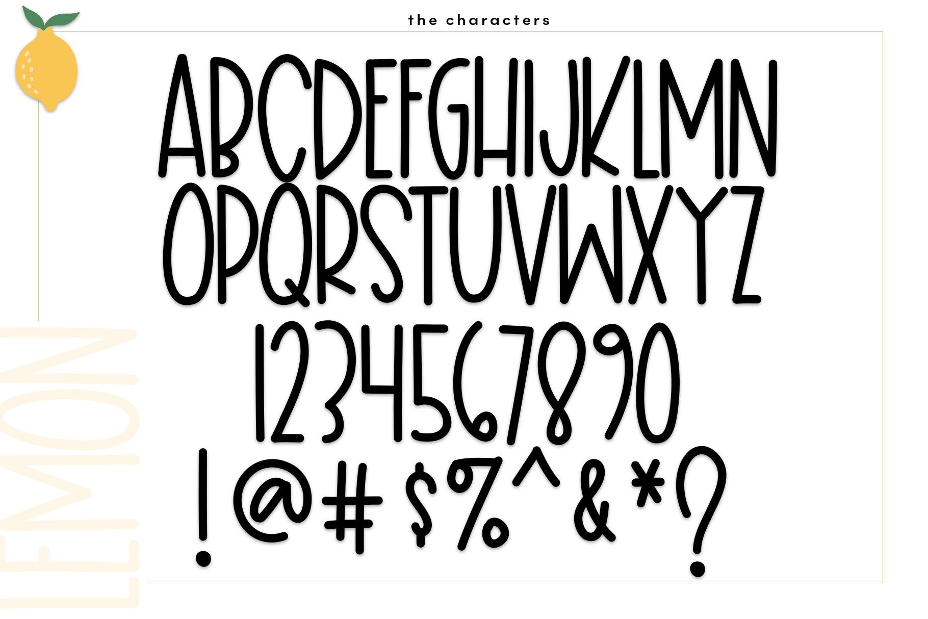 Lemon Lime - A Print/Script Handwritten Font Duo example image 9