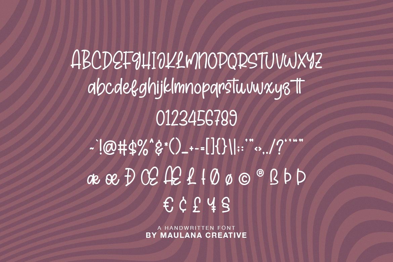 Hictor Petrol Handwritten Sans Serif Font example image 10