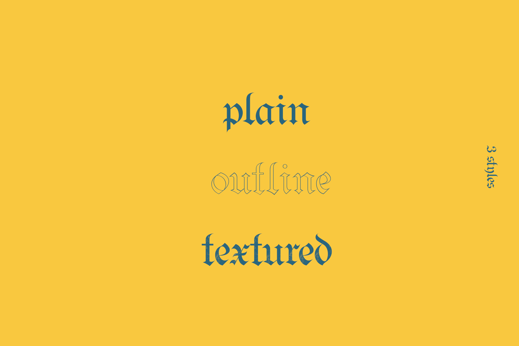 Bielefeld Typeface font example image 2