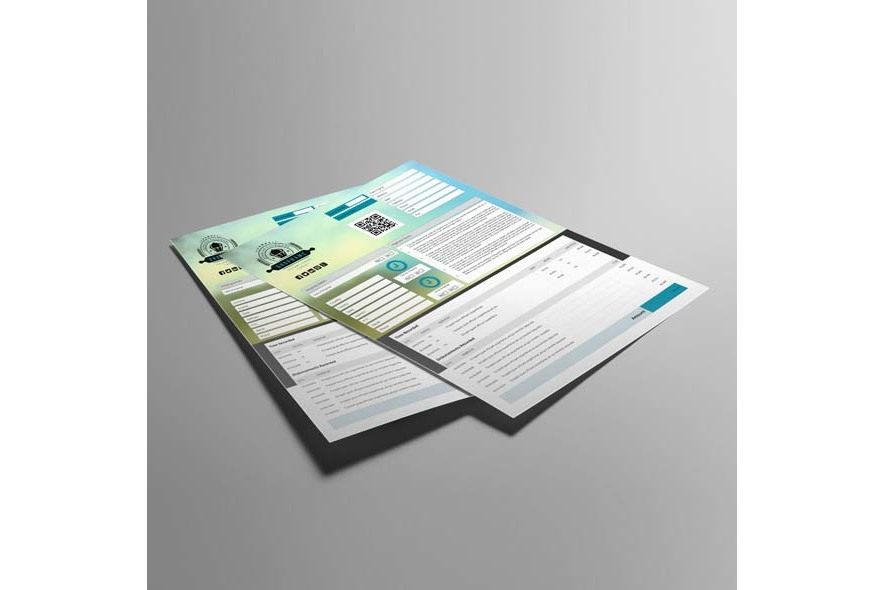 Business Invoice US Letter Template example image 6