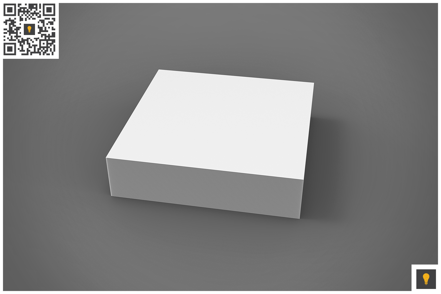 Branding Stationary 3D Render example image 12